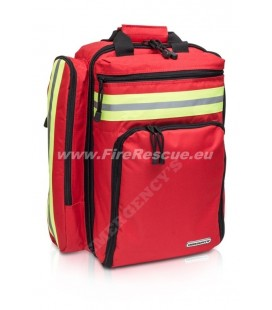 ELITE BAGS EMS BACKPACK RESCUE - RED