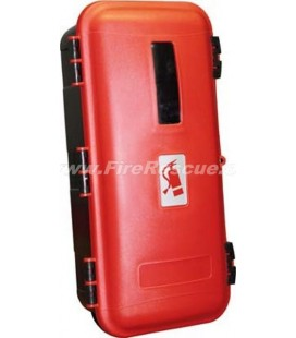 FIRE EXTINGUISHER PVC CABINET 6 KG/L - IT