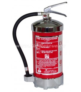 PII FIRE EXTINGUISHER WATER 6 L CROM SERIES