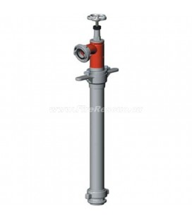 STANDPIPE FOR UNDERGROUND HYDRANT WITH ONE OUTLET - DN50