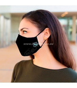 PROTECTIVE MASK WITH FILTER FOR ADULT - BLACK