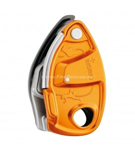 PETZL GRIGRI + BELAY DEVICE WITH CAM-ASSISTED BLOCKING